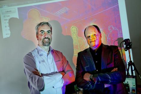 Movidius Founders - Sean Mitchell & David Moloney