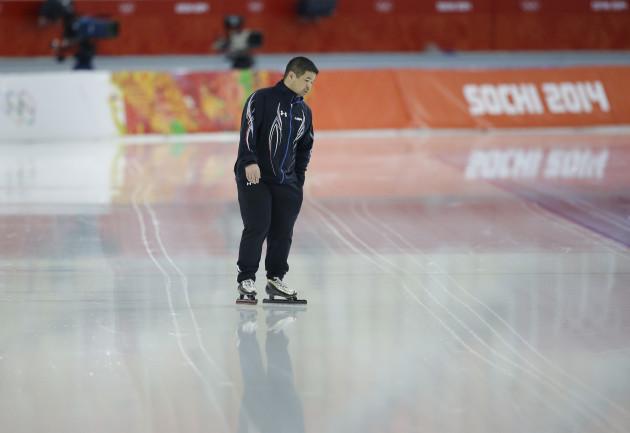 Sochi Olympics Speedskating US Suits