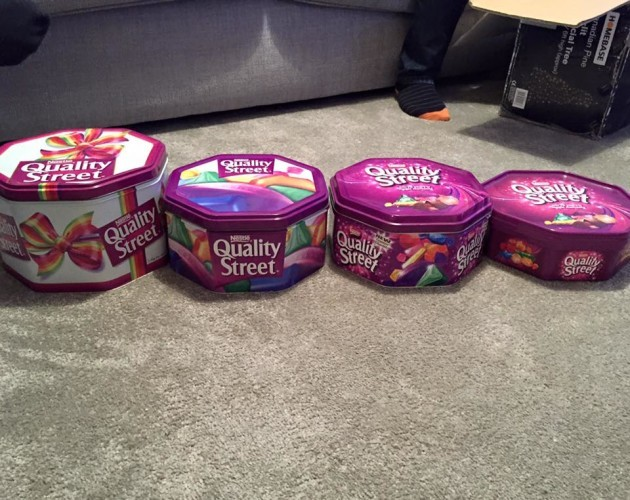 dee57e1f6da13 This photo claiming to show how Quality Street tins have shrunk has enraged  the internet