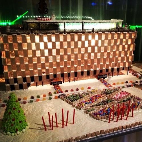 @themarkerhotel Gingerbread Hotel. In the words of a certain Sinn Fein TD...#amazeyballs