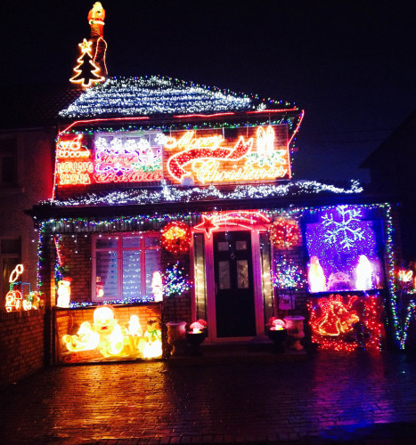 Christmas In Dublin Ireland.These Are The 9 Best Christmas Light Displays In Ireland