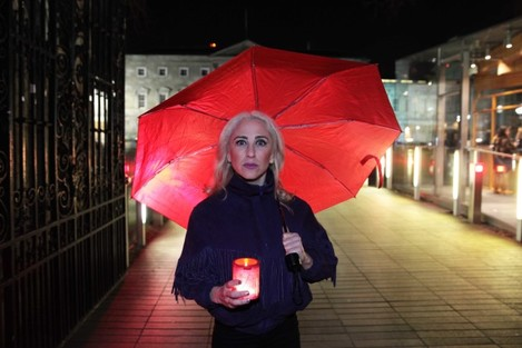 17/12/2015.Sex Workers Vigils. Pictured is with Ka