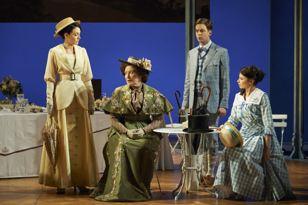 (L-R) Caoimhe O'Malley, Eleanor Methven, James Murphy and Genevieve Hulm...