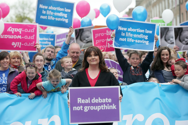 3/5/2014. Anti Abortion Protests