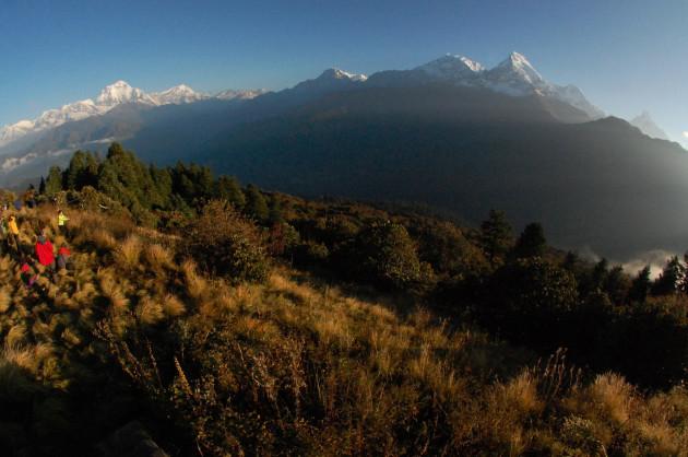 Travel Trip Nepal Family Trekking