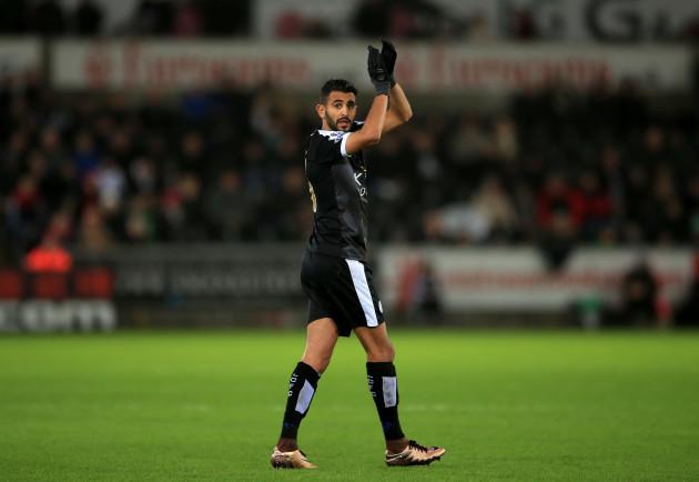 Swansea City v Leicester City - Barclays Premier League - Liberty Stadium