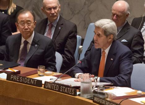 United Nations Syria Talks