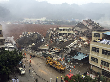 China Building Collapse