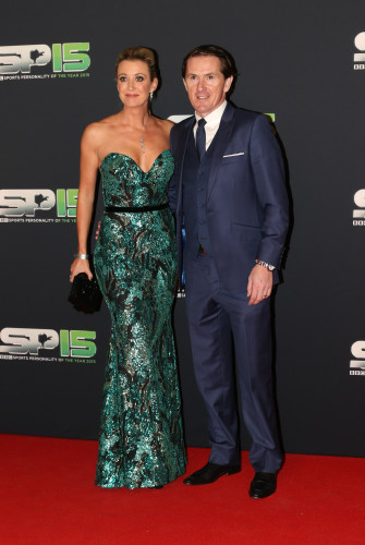 AP McCoy with his wife Chanelle