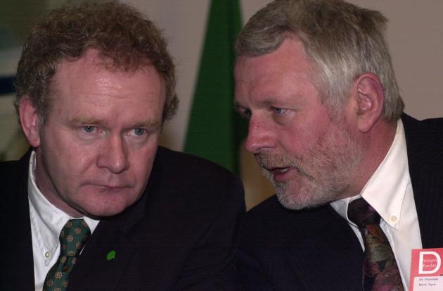 Martin McGuinness Sinn Fein Ard Fheis 2000