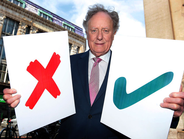 Tv3s Vincent Browne pictured at The George Bar in