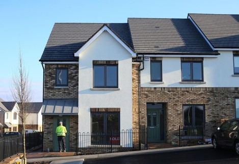 House prices rising in Ireland