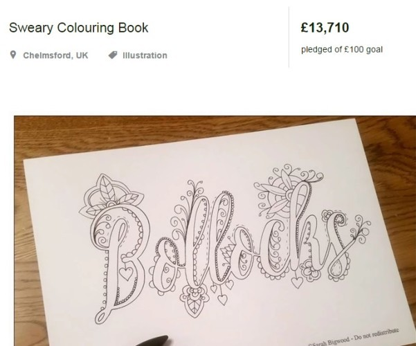People Have Fallen In Love With This Sweary Colouring Book For Adults