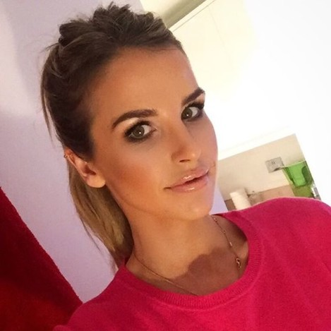 Love this make up look on my @hellomaguk blog from @rebeccatoddmua check out how to do it on the blog... http://blog.hellomagazine.com/voguewilliams/ ❤️