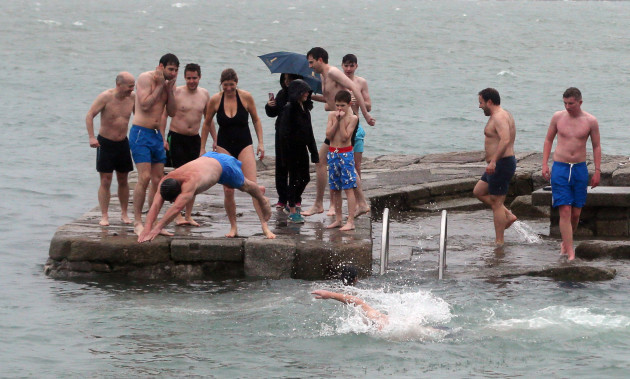 Christmas Day swim - Dublin