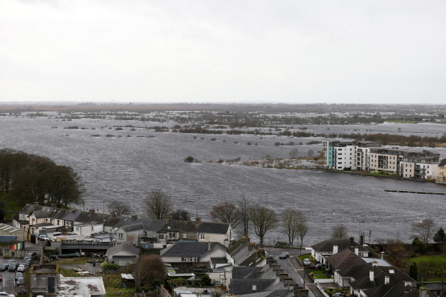 9/12/2015 An overall view of the River Shannon flo
