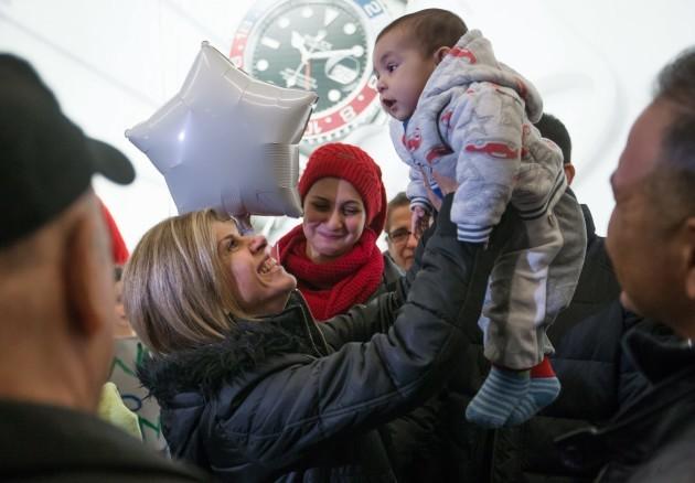 APTOPIX Canada Syrian Refugees