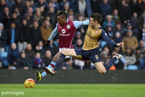 Aston Villa v Arsenal - Barclays Premier League - Villa Park