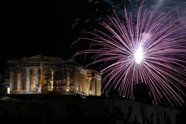 Greece New Years Eve