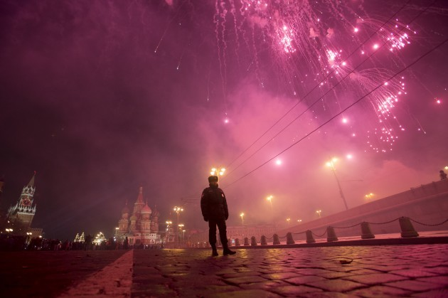 Russia New Year Eve