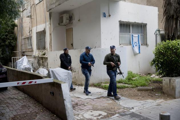 Mideast Israel Shooting