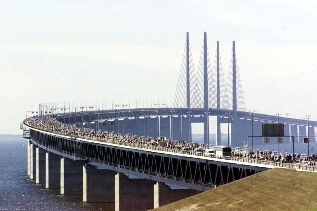 Buildings and Landmarks - Oresund Bridge - Sweden