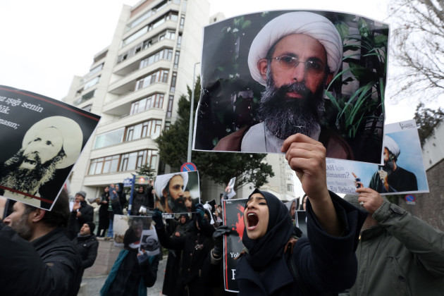 Turkey Saudi Execution Protests