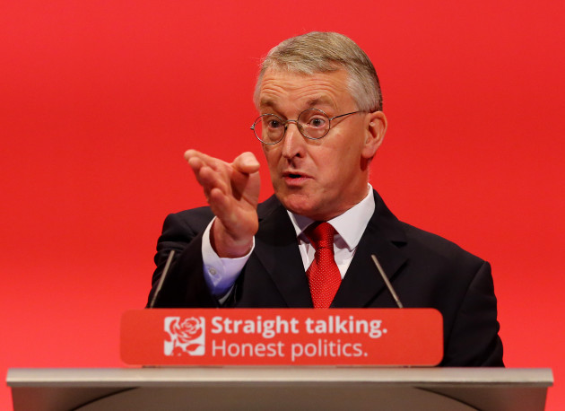 Hilary Benn future