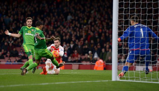 Arsenal v Sunderland - Barclays Premier League - Emirates Stadium