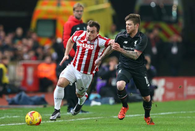 Stoke City v Liverpool - Capital One Cup - Semi Final - First Leg - Britannia Stadium