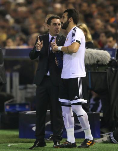 Valencia CF v Olympique Lyonnais - UEFA Champions League - Group H - Mestalla Stadium