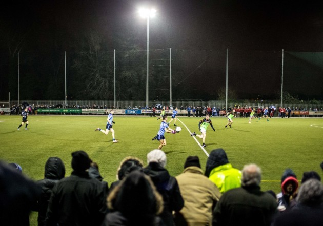 General view of the match at Russell Park