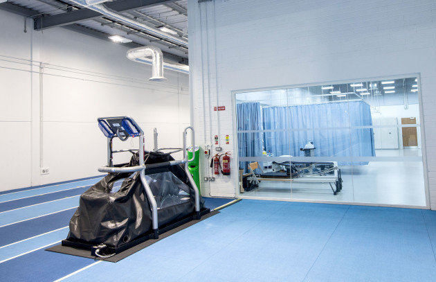 A view of the facilities at the High Performance Training Centre