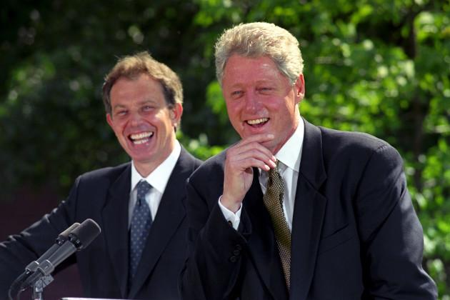 Bill Clinton visits London