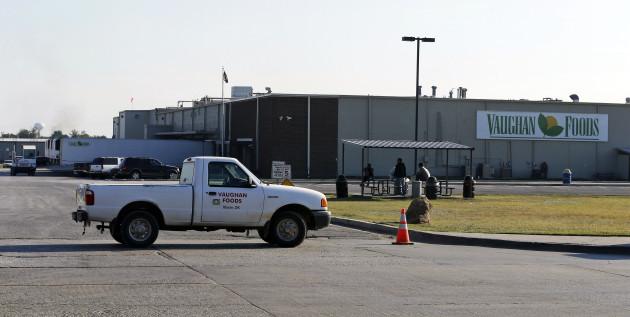 CORRECTION Oklahoma Workplace Beheading
