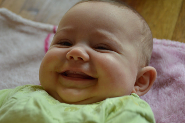Das Lächeln .......!