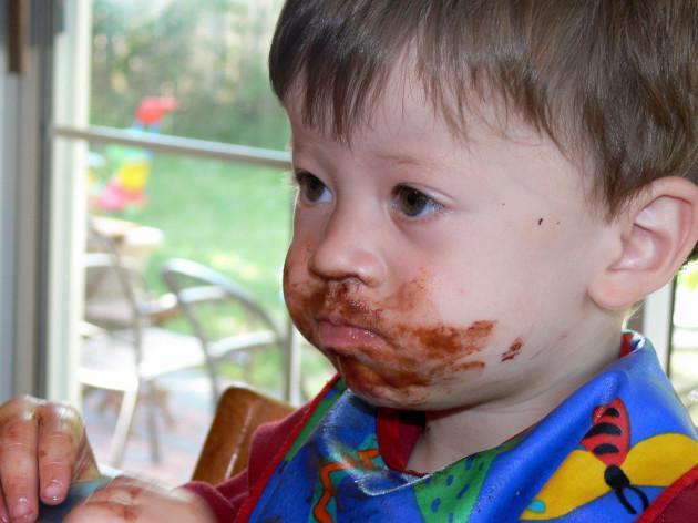 David loves chocolate