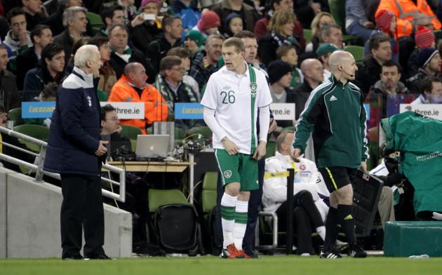 Soccer - International Friendly - Republic of Ireland v Czech Republic - Aviva Stadium