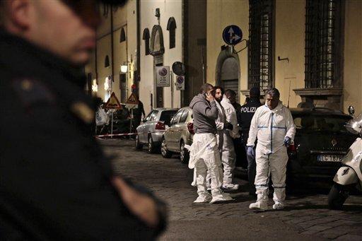 Italy American Slain