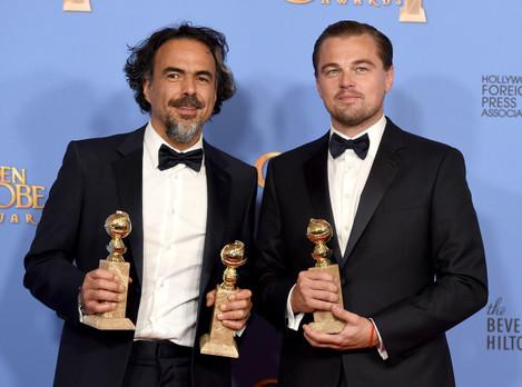73rd Annual Golden Globe Awards - Press Room - Los Angeles