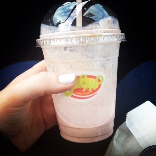 #jump #smoothie to finish off #shopping for the last few #holiday bits