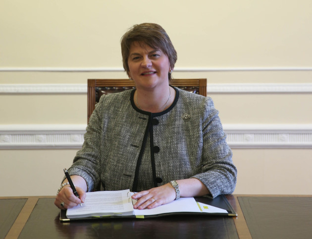 New First Minister for Northern Ireland