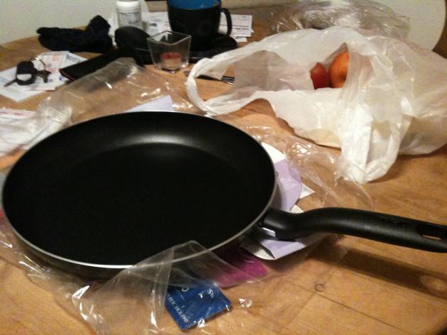 new fry pan