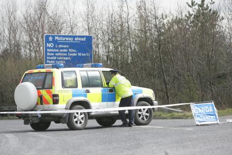 18/3/2008. Car Crashes on M50 Motorways