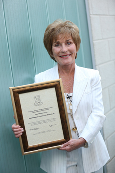 110413-Judge-Judy-honoured-by-University-College-Dublin-Law-Society-body