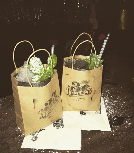 Anyone for a bag of #drink #cocktails #bagofalcohol #dublinnightlife #dublin