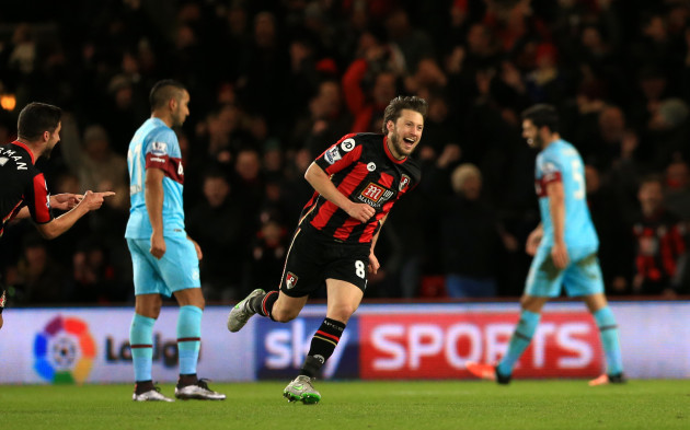 Bournemouth v West Ham United - Barclays Premier League - Vitality Stadium