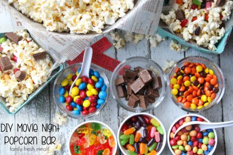DIY-Movie-Night-Popcorn-Bar-FamilyFreshMeals.com-Fun-for-the-whole-family