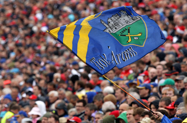 General view of a Tipperary flag