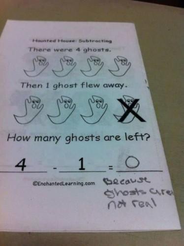 ghostsarenot